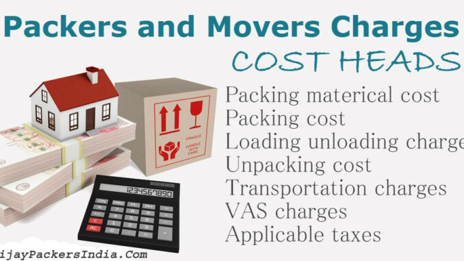 Packers and Movers Pune Charges Rates